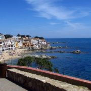 Praia na Espanha
